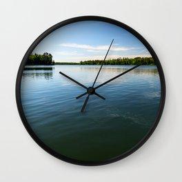 Lake Itasca - Minnesota, USA 4 Wall Clock
