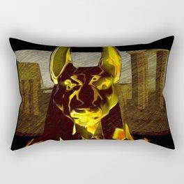 Anubis, God of Egypt Rectangular Pillow
