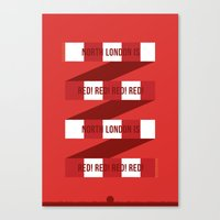 arsenal Canvas Prints featuring Arsenal FC by Tensugars by M&W