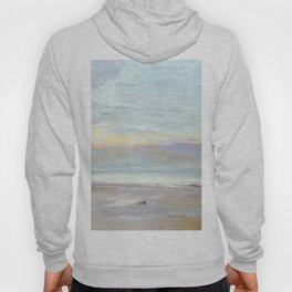 Crepuscule In Opal Trouville By James Mcneill Whistler | Reproduction Hoody
