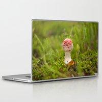 mushroom Laptop & iPad Skins featuring Mushroom by Mirella von Chrupek