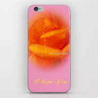 gift card iPhone & iPod Skins featuring Gift Card by Clive Eariss