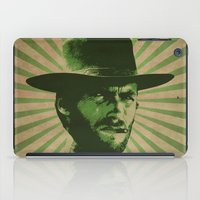clint barton iPad Cases featuring Clint by Durro