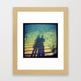 !?! Framed Art Print