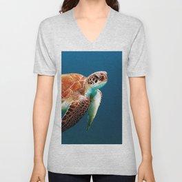 Turtley Unisex V-Neck