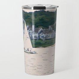 Sailboat Painterly Travel Mug