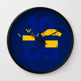 Boca Kits 2019/2020 Wall Clock