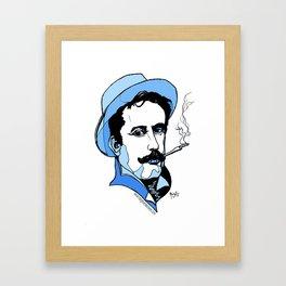 Giacomo Puccini Italian Composer Framed Art Print