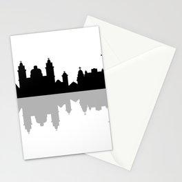 skyline of rio de janeiro Stationery Cards