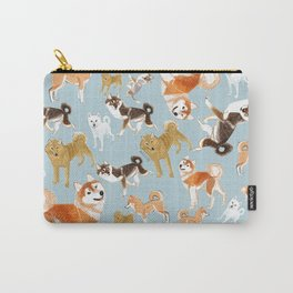 Japanese Dog Breeds Carry-All Pouch