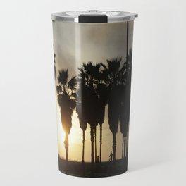 Sunset at Venice Beach Travel Mug