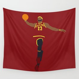 NBA Players | Lebron Dunk Wall Tapestry