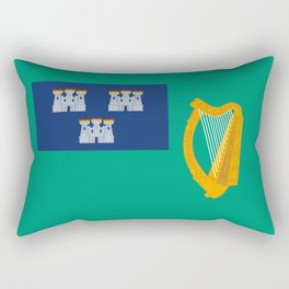 Flag of Dublin Rectangular Pillow