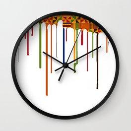 Zaina drip Wall Clock