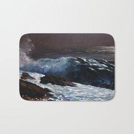 Winslow Homer - Sunlight on the Coast Bath Mat