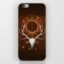 Season Of The Moons Autumn Fire iPhone Skin