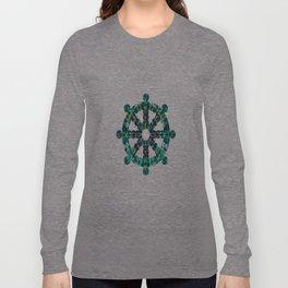 Wheel of TieDye Long Sleeve T-shirt