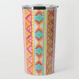Summer Sun // Geometric Watercolor Travel Mug