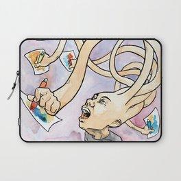 Uncontrollable Creativity Laptop Sleeve
