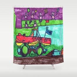 SnakeBite's Race Shower Curtain