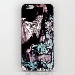 Nun and a facet of myself iPhone Skin