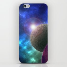 Space Expedition iPhone Skin