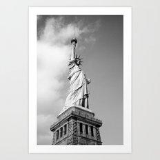 Lady Liberty - NYC Art Print
