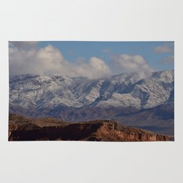Desert Snow on Christmas - II Rug