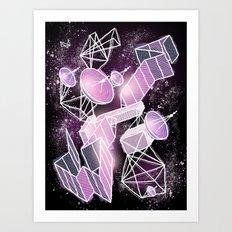 Cosmic Playground Art Print