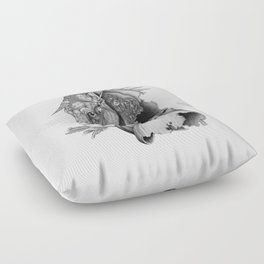 The King's Lost Knight Floor Pillow