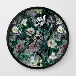 Floral Camouflage VSF016 Wall Clock
