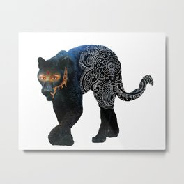 Venus panther Metal Print