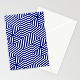 Phthalo blue - blue - Minimal Vector Seamless Pattern Stationery Cards