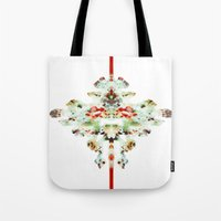 moth Tote Bags featuring Moth by Tina Carroll
