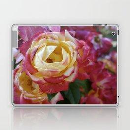 Pink and Yellow Roses Laptop & iPad Skin