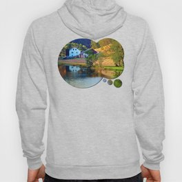 A summer evening along the river II | waterscape photography Hoody