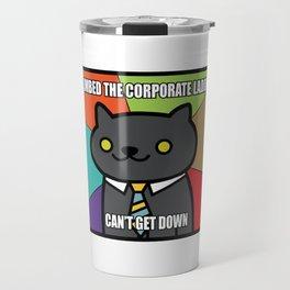 BUSINESS CAT NEKO ATSUME MEME V2 Travel Mug