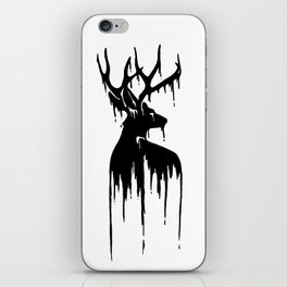 Painted Stag V.2 iPhone Skin