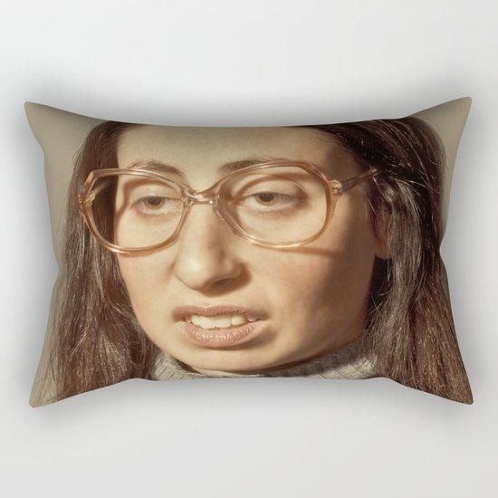 i.am.nerd. :: lauren s. Rectangular Pillow