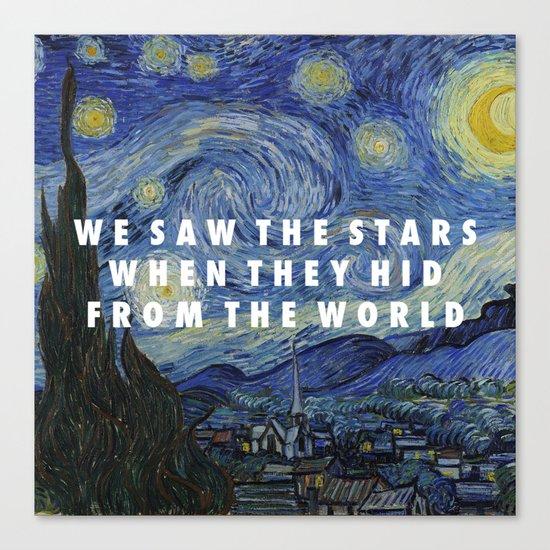 Starry Step Canvas Print