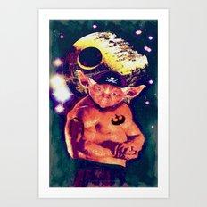 EXCESSIVE FORCE – 038 Art Print