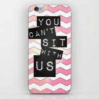 mean girls iPhone & iPod Skins featuring mean girls by Itzsterr
