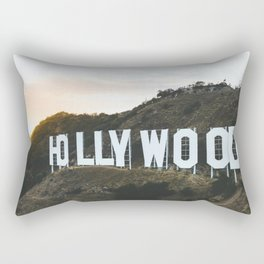 Hollywood Sign (Los Angeles, CA) Rectangular Pillow