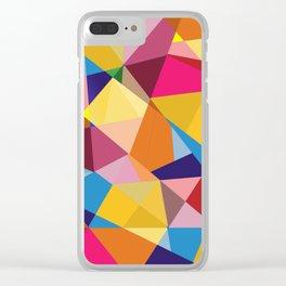 Creative Geometry Clear iPhone Case