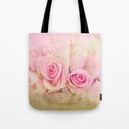 Rose Basket Tote Bag