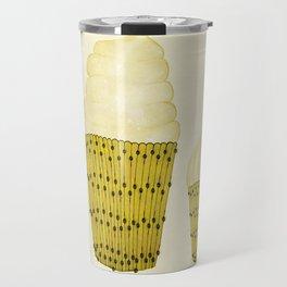 Banana Cupcakes  Travel Mug