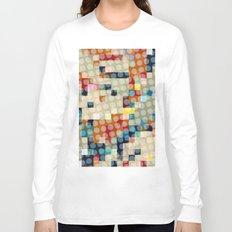dots meet pixels Long Sleeve T-shirt