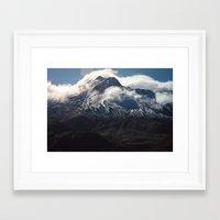 helen Framed Art Prints featuring Helen by Charley Zheng