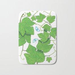 Grape Leaves Bath Mat