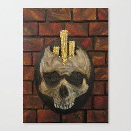 Candlehead Canvas Print